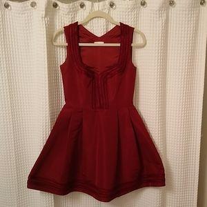 Red valentino designer red carpet dress